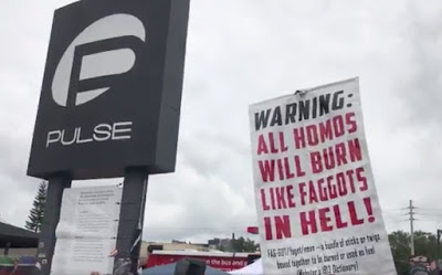 WATCH: Love Conquers Hate! Anti-gay Protestor Arrested at Pulse Nightclub Vigil image