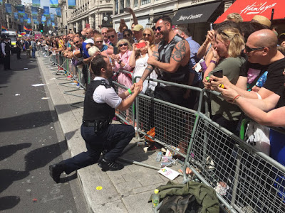 Gay Cop Whose Pride Proposal Went Viral Opens Up About The Dark Side Of Fame image