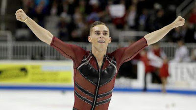 Adam Rippon Is The First Openly Gay US Man To Qualify For The Winter Olympics image